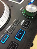 Dj console buttons Stock Photos