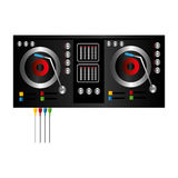 Dj console isolated icon Royalty Free Stock Photography