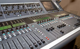 DJ control panel Royalty Free Stock Images