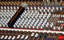 DJ control panel Royalty Free Stock Image