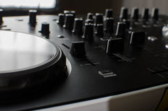 Dj controller Royalty Free Stock Photos