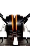 DJ-Controller und Kopfhörer Lizenzfreies Stockbild
