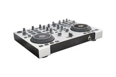 DJ controller Stock Photo