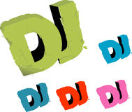 DJ cover Royalty Free Stock Photography