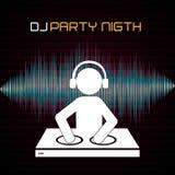 DJ design. Stock Photography