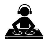 DJ design. Stock Photo
