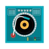 DJ design. Stock Photos