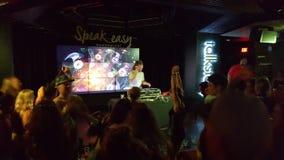 DJ Drez spins on stage at Speakeasy Nightclub Stock Photography