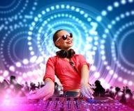 DJ e misturador imagens de stock royalty free