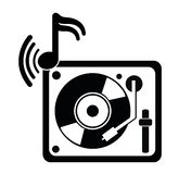 DJ electronic music party Royalty Free Stock Image