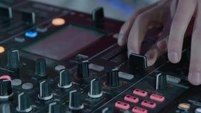 DJ en el partido almacen de video