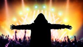 DJ en el partido Fotos de archivo