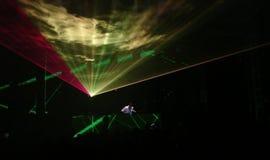 DJ en el trabajo Imagenes de archivo