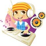 DJ engraçado fotos de stock royalty free