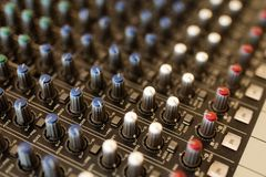 Dj equipment royalty free stock image