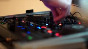 Dj equipment Royalty Free Stock Images