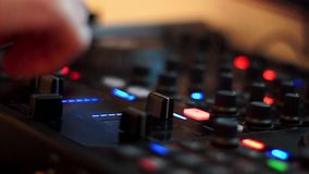Dj equipment Royalty Free Stock Photography