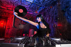 Dj garage Stock Image
