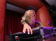 DJ - girl Royalty Free Stock Photos