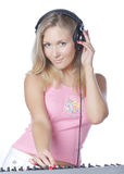 DJ Girl Stock Photography
