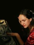 DJ - girl Stock Photos