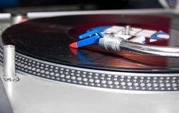 DJ Gramophone Royalty Free Stock Photo