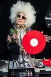 DJ-Großmutter Stockfotografie