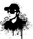 DJ grunge Στοκ εικόνα με δικαίωμα ελεύθερης χρήσης