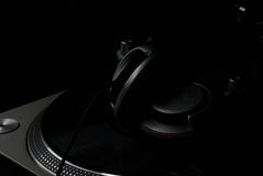 DJ Headphones Stock Image