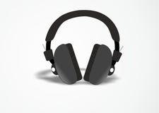 DJ headphones stock photo