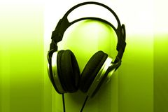 DJ Headphones Royalty Free Stock Images