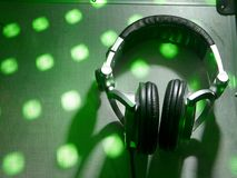 Dj headphones Stock Photos