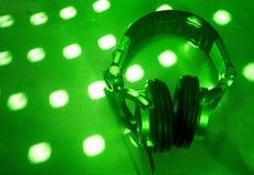Dj headphones Royalty Free Stock Image