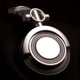 Dj headphones on black Royalty Free Stock Images