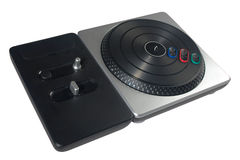 DJ Hero Decks Royalty Free Stock Images