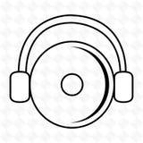 dj icon design Royalty Free Stock Photo