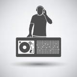 DJ icon Royalty Free Stock Photography