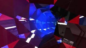 DJ impresionante va de fiesta la animación del túnel almacen de video
