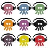 DJ Jellyfish Stock Image