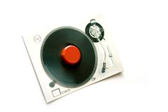 DJ kardieren Lizenzfreie Stockfotos