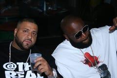 DJ Khaled y Rick Ross Imágenes de archivo libres de regalías