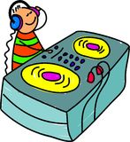 Dj kid Stock Images