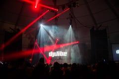 DJ klimaty caparica primavera kipieli fest Obrazy Royalty Free