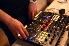 DJ koppeln Station an lizenzfreie stockbilder