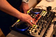 DJ koppeln Station an stockfoto