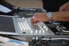 DJ- lijst Royalty-vrije Stock Foto's