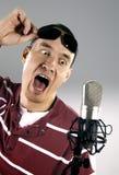 DJ loco Foto de archivo libre de regalías