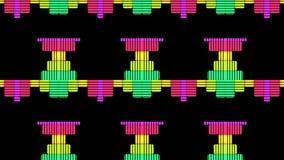 DJ maakt Niveaus Grafische Achtergrond gelijk royalty-vrije illustratie
