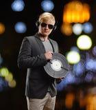 DJ man portrait Royalty Free Stock Photo