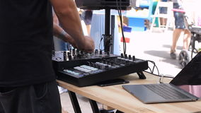 DJ melanżer, DJ wyposażenie przy noc klubem HD zbiory